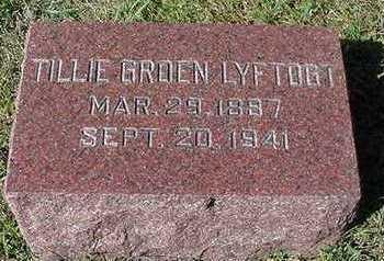 GROEN LYFTOGT, TILLIE - Sioux County, Iowa | TILLIE GROEN LYFTOGT