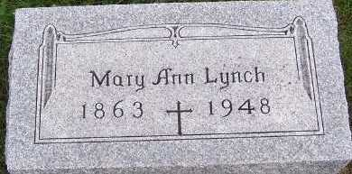 LYNCH, MARY ANN - Sioux County, Iowa | MARY ANN LYNCH