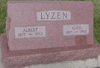 LYSEN, ALBERT - Sioux County, Iowa | ALBERT LYSEN