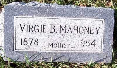 MAHONEY, VIRGIE B. - Sioux County, Iowa | VIRGIE B. MAHONEY