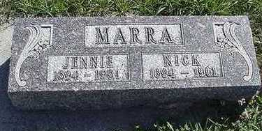 MARRA, JENNIE - Sioux County, Iowa | JENNIE MARRA
