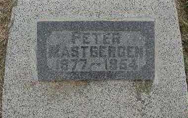 MASTBERGEN, PETER - Sioux County, Iowa   PETER MASTBERGEN