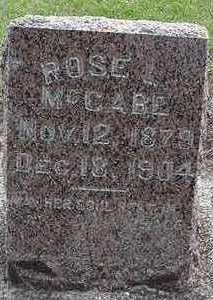 MCCABE, ROSE - Sioux County, Iowa   ROSE MCCABE