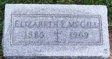 MCGILL, ELIZABETH E. - Sioux County, Iowa | ELIZABETH E. MCGILL