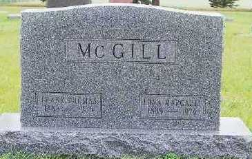 MCGILL, LONA MARGARET (1889-1976) - Sioux County, Iowa | LONA MARGARET (1889-1976) MCGILL