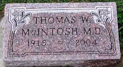 MCINTOSH, THOMAS W.  MD - Sioux County, Iowa | THOMAS W.  MD MCINTOSH