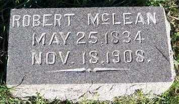 MCLEAN, ROBERT - Sioux County, Iowa | ROBERT MCLEAN