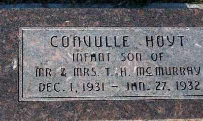 MCMURRAY, CONVULLE HOYT - Sioux County, Iowa | CONVULLE HOYT MCMURRAY