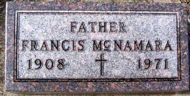 MCNAMARA, FRANCIS - Sioux County, Iowa | FRANCIS MCNAMARA