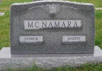 MCNAMARA, PATRICK (1880-1959) - Sioux County, Iowa | PATRICK (1880-1959) MCNAMARA