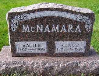 MCNAMARA, WALTER - Sioux County, Iowa | WALTER MCNAMARA