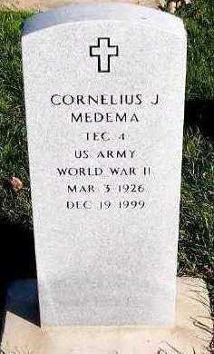 MEDEMA, CORNELIUS J. - Sioux County, Iowa | CORNELIUS J. MEDEMA