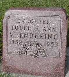 MEENDERING, LOUELLA ANN - Sioux County, Iowa | LOUELLA ANN MEENDERING