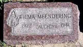 MEENDERING, WILMA - Sioux County, Iowa | WILMA MEENDERING