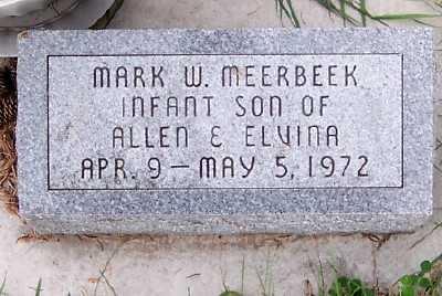MEERBEEK, MARK W. - Sioux County, Iowa   MARK W. MEERBEEK