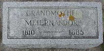 MEIERNANDORF, GRANDMOTHER - Sioux County, Iowa | GRANDMOTHER MEIERNANDORF