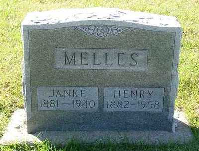 MELLES, HENRY - Sioux County, Iowa | HENRY MELLES