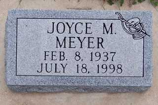 MEYER, JOYCE M. - Sioux County, Iowa | JOYCE M. MEYER