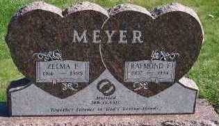 MEYER, ZELMA F. - Sioux County, Iowa | ZELMA F. MEYER