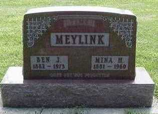 MEYLINK, BEN - Sioux County, Iowa | BEN MEYLINK
