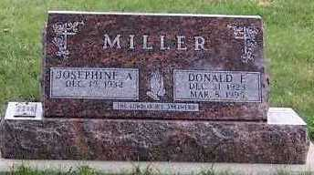 MILLER, DONALD E. - Sioux County, Iowa | DONALD E. MILLER
