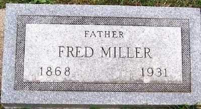MILLER, FRED - Sioux County, Iowa | FRED MILLER