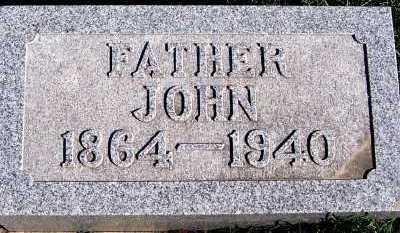 MILLER, JOHN (1864-1940) - Sioux County, Iowa | JOHN (1864-1940) MILLER