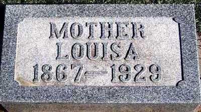 MILLER, LOUISA - Sioux County, Iowa | LOUISA MILLER