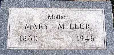 MILLER, MARY (1860-1946) - Sioux County, Iowa | MARY (1860-1946) MILLER