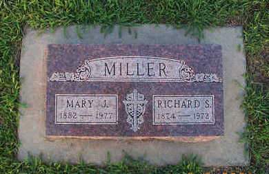 MILLER, MARY - Sioux County, Iowa | MARY MILLER
