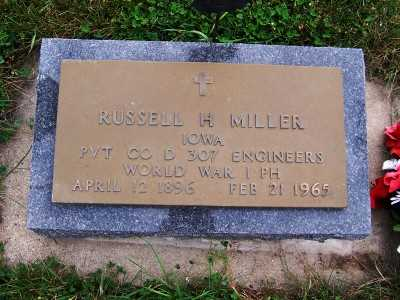 MILLER, RUSSELL H. - Sioux County, Iowa | RUSSELL H. MILLER