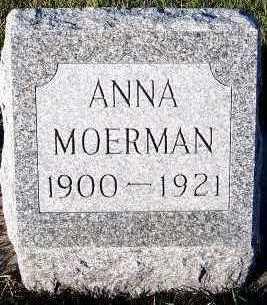 MOERMAN, ANNA - Sioux County, Iowa   ANNA MOERMAN