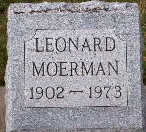 MOERMAN, LEONARD - Sioux County, Iowa | LEONARD MOERMAN