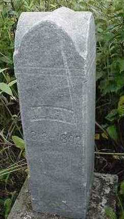 MONTGOMERY, MARY - Sioux County, Iowa | MARY MONTGOMERY