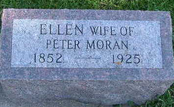 MORAN, ELLEN (MRS. PETER) - Sioux County, Iowa | ELLEN (MRS. PETER) MORAN