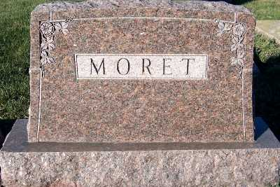 MORET, FAMILY HEADSTONE - Sioux County, Iowa | FAMILY HEADSTONE MORET