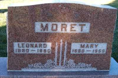 MORET, MARY - Sioux County, Iowa | MARY MORET