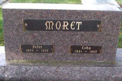 MORET, PETER - Sioux County, Iowa | PETER MORET