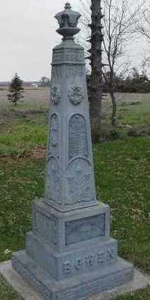 BOWEN, LAMENTA B. - Sioux County, Iowa | LAMENTA B. BOWEN