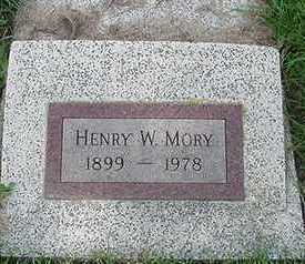 MORY, HENRY W. - Sioux County, Iowa | HENRY W. MORY