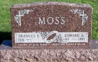 MOSS, EDWARD A. - Sioux County, Iowa | EDWARD A. MOSS