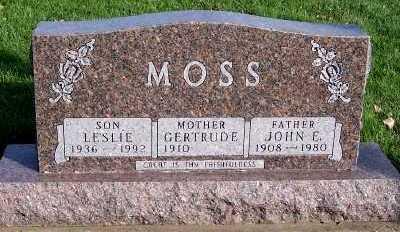MOSS, GERTRUDE (MRS. JOHN) - Sioux County, Iowa | GERTRUDE (MRS. JOHN) MOSS