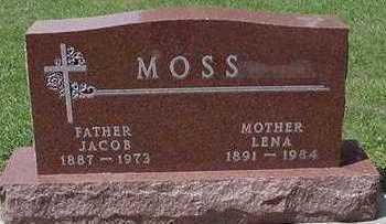 MOSS, JACOB - Sioux County, Iowa | JACOB MOSS