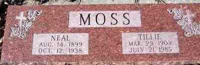 MOSS, TILLIE - Sioux County, Iowa | TILLIE MOSS