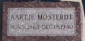 MOSTERDT, AARTJE - Sioux County, Iowa | AARTJE MOSTERDT