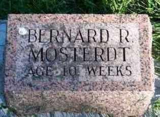 MOSTERDT, BERNARD R. - Sioux County, Iowa | BERNARD R. MOSTERDT
