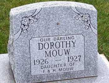 MOUW, DOROTHY (DAU OF F.& H.) - Sioux County, Iowa | DOROTHY (DAU OF F.& H.) MOUW