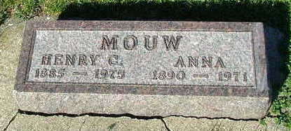 MOUW, HERMAN - Sioux County, Iowa | HERMAN MOUW