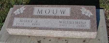 MOUW, WILHELMINA (MRS. HARRY) - Sioux County, Iowa | WILHELMINA (MRS. HARRY) MOUW