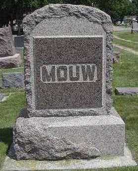 MOUW, HEADSTONE - Sioux County, Iowa | HEADSTONE MOUW